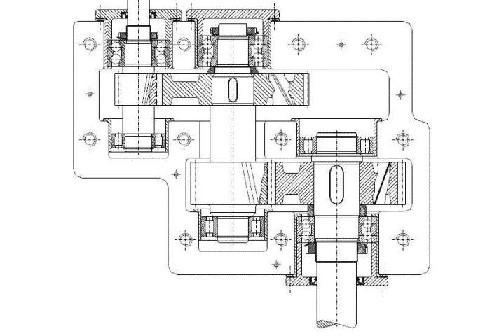 riduttore CAD