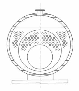 generatore vapore tubi sezione