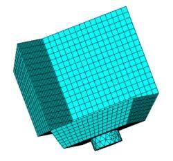 mesh reflettore