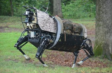 Legged_Squad_Support_System_robot_prototype