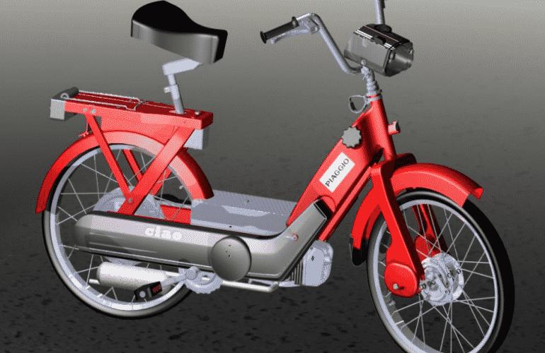 CAD ciclomotore ciao
