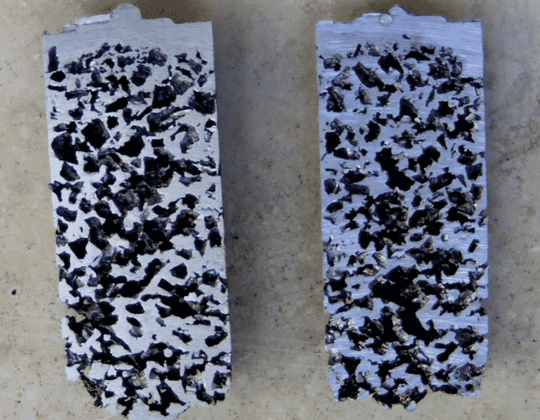 sezioni schiuma alluminio