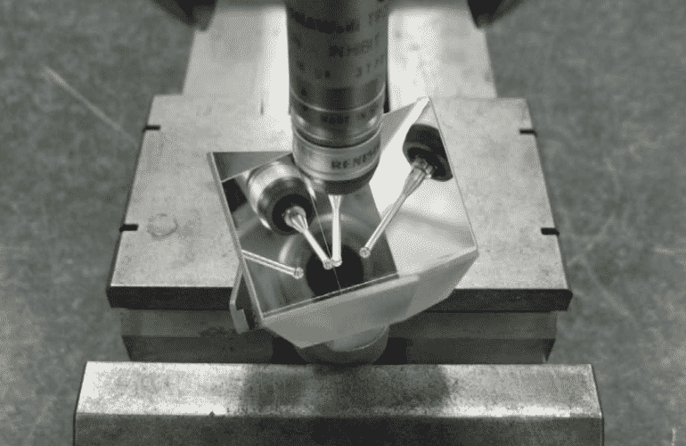 retroreflettore misura