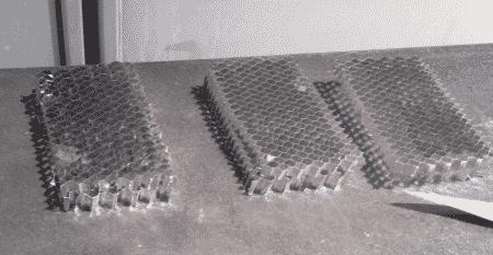 assorbitore honeycomb
