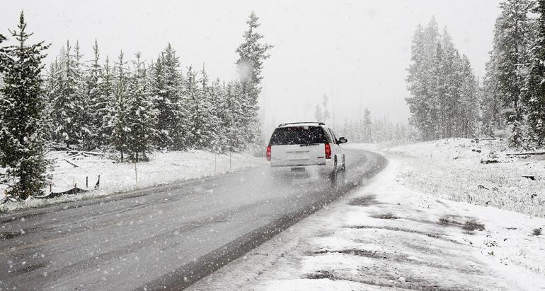 Guidare sulla neve